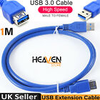 High Speed USB 3.0 Extension Cable Male to Female Extender Lead Wire Cord lot