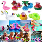4Pcs Inflatable Floating Swimming Pool Beach Drink Cup Beer Holder Boat Toy UK