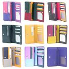 RFID Protected  Leather Bi Fold Wallet Purse by Golunski Various colours image