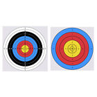 20/50pcs Archery Target Paper Face for Arrow Bow Shooting Hunting Practice