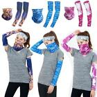 basketball face masks - Fishing Hunting Face Mask Neck Scarf Headwear Tube Hood & Anti-UV Arm Sleeves