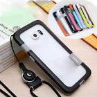 Soft TPUBumper Case With Lanyard For Samsung Galaxy S6/S6 EDGE/S6 EDGE PLUS