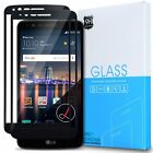 LG Stylo 3 [2-Pack] Full Screen Coverage Tempered Glass Screen Protector