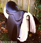 NEW PLUS D Flex Cob Leather Saddle Especially Designed For Rounder Breeds