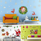 Merry Christmas Wall Art Removable Home Window Wall Stickers Decal Party Decor