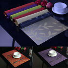Leaves Tableware Placemats Place Mats Table Coasters Kitchen Dining Room