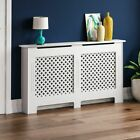 Radiator Cover White Unfinished Modern Traditional Wood Grill Cabinet Furniture <br/> ORDER BY 2PM FOR NEXT DAY DELIVERY-CHEAPEST ON EBAY