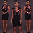 Women Summer Casual Short Sleeve Dresses Party Cocktail Bodycon Short Mini Dress