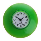 Water-proof Clock Cup Suction Disc Type Wall Decor Shower Kitchen Room Supply