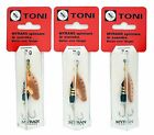3pcs Lot of Myrans 7g Spinners - 3 x Toni, 3 x Akka or 3 Mixed Spinning Lures