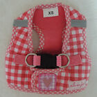 "♥ Hundegeschirr alvonja ""SMART"" Softgeschirr rot/weiß in XS - S ♥"