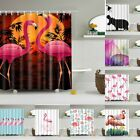 Bathroom Fabric Shower Curtain Extra Wide Extra Long Standard With Hooks Ring