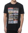 NWT Famous Stars & Straps HIP HOP TAPES Tee Shirt BLACK LARGE-3XLARGE LIMITED