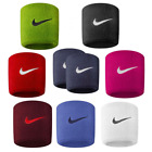 Nike Swoosh Sports Sweat Stretch Wristbands Set Of 2 Tennis Football Official