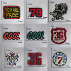 Patches For Clothing Embroidered Appliques DIY Apparel Accessories Patches @19