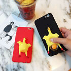 Soft TPU Phone Case Cover Chicken Laying Egg Hens Relax for iPhone 6 6S 7 Plus J