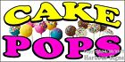(CHOOSE YOUR SIZE) Cake Pops DECAL Cake Concession Food Truck Vinyl Sticker