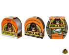 GORILLA TAPE GENUINE HEAVY DUTY STRONG TOUGH BLACK SILVER CAMO HANDY ROLL
