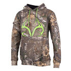 Mens Realtree Maple Sweatshirt, Realtree Xtra, Green Flash, Pack of 1