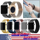 TX Local Milanese Loop Stainless Steel Metal Straps Watch Band for Apple Watch
