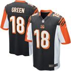 Cincinnati Bengals Jersey AJ Green #18 Nike Youth Game Replica NFL Black on eBay