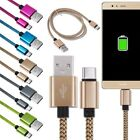 Universal Type-C Braided Fast Data Sync Charging Cable For Samsung Sony Huawei
