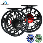 Maxcatch Fly Reel 3/4 5/6 7/8WT CNC Machined Aluminum Large Arbor Fishing Reel