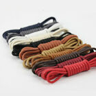 1 Pair Waxing Shoelaces for Leather Shoe Waterproof Snow Martin Boots Sport Shoe