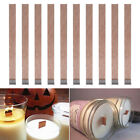 Внешний вид - 10Pcs 3 Sizes Candle Wood Wick with Sustainer Tab Candle Making Supply