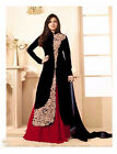 PAKISTANI BOLLYWOOD DESIGNER EMBROIDERED ANARKALI SUIT INDIAN BRIDAL GOWN 01