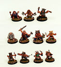 28mm Scale Pro-Painted Fantasy Dwarf Pelter Warriors Miniatures-Ganesha Games