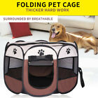 Внешний вид - Portable Folding Dog House Cage Crate Indoor Outdoor Pets Puppy Kennel Tent