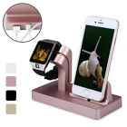 mobile phone charger station - Charging Dock Stand Station Charger Holder for Apple Watch iWatch iPhone 7 6Plus