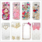 Bling Mix Crown Diamond Rhinestone Crystal Case Cover Skin For iPhone& Samsung