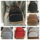 New Michael Kors Abbey Xsmall Studded Backpack Crossbody Nwt