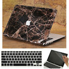 """3in1 Griotte Marble Black Leather Coated Case for MacBook Air Pro 13"""" 15"""" 2016"""