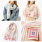 "Colorful Tassel Plaids Print Soft Women's Long Scarves Wraps Shawl Scarf 71""*39"""