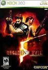 Resident Evil 5 - Xbox 360 Game V Complete In Case! Low Prices!