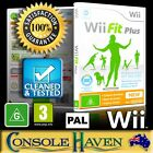 (Wii Game) Wii Fit Plus + (for Balance Board) (G) (Fitness & Health) PAL
