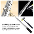 Steel Ring Mandrel Nylon Face Mallet Sizer Jewelry Making Forming Hammer Tool JS