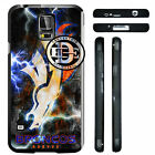 EGOCENTRIC DESIGN & CO. Colorful Broncos Football Art TPU Rubber Silicone Phone