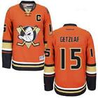 Ryan Getzlaf 15 Premier Anaheim Ducks Orange Jersey Mens M 3XL