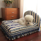 Luxury Soft Dog Cat Bed Mat Cushion Sofa Pet Sleeping Warm Kennel Pillow Blanket