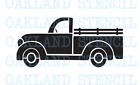 "Vintage Truck STENCIL 6""-16"" for Signs Christmas Paint Pillows Wood Walls DIY"