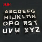 8MM Red Rhinestone A-Z Slide Letters charms DIY Wristband Pet Dog Name Collars