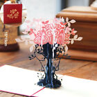 3D Pop Up Wedding Invitation Christmas Card Anniversary Greeting Card Valentine