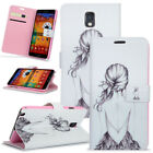 Ultra Slim Magnetic Wallet Leather Cover Stand View Flip Case For Samsung Galaxy