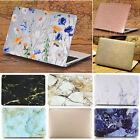 """Palm Leaves w/ Red Flower  Leather Marble Matte Case for MacBook Air 13"""" 13.3"""""""