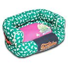 Pet Life Touchdog Lazy-Bones Rabbit-Spotted Premium Easy Wash Couch Dog Bed