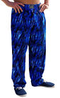 Crazee Wear Classic Relaxed Fit Baggy Pants- Blue Tide - New